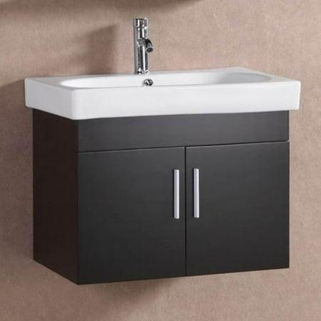 Belvedere 28 in. Modern Floating Single Bathroom Vanity ...
