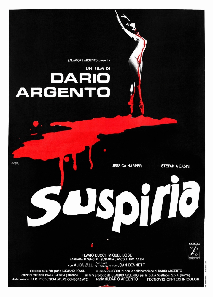 Suspiria Poster Art 1977 Movie Poster Masterprint by Everett Collection