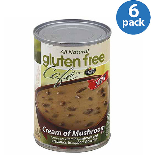 Health Valley Gluten Free Cafe Cream of Mushroom Soup, 15 oz, (Pack of 6)