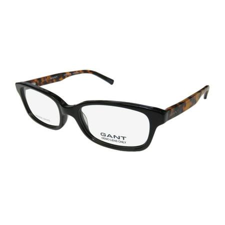 New Gant 4056 Womens/Ladies Designer Full-Rim Black / Tortoise Designer Durable Plastic Temples Frame Demo Lenses 52-17-135 Flexible Hinges (Durable Prescription Glasses)