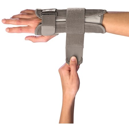 Mueller Reversible Wrist Stabilizer, Beige, Large/Extra Large