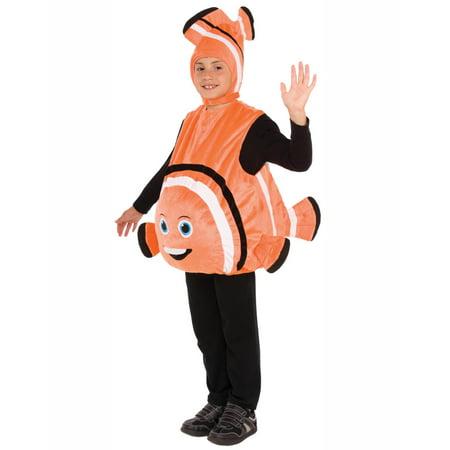 Orange Fish Unisex Child Clown Fish Nemo Halloween Costume - Neko Halloween Costumes