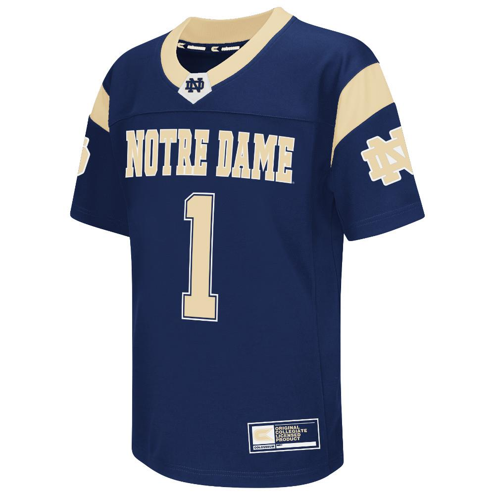 Youth NCAA Notre Dame Fighting Irish Football Jersey (Team Color)
