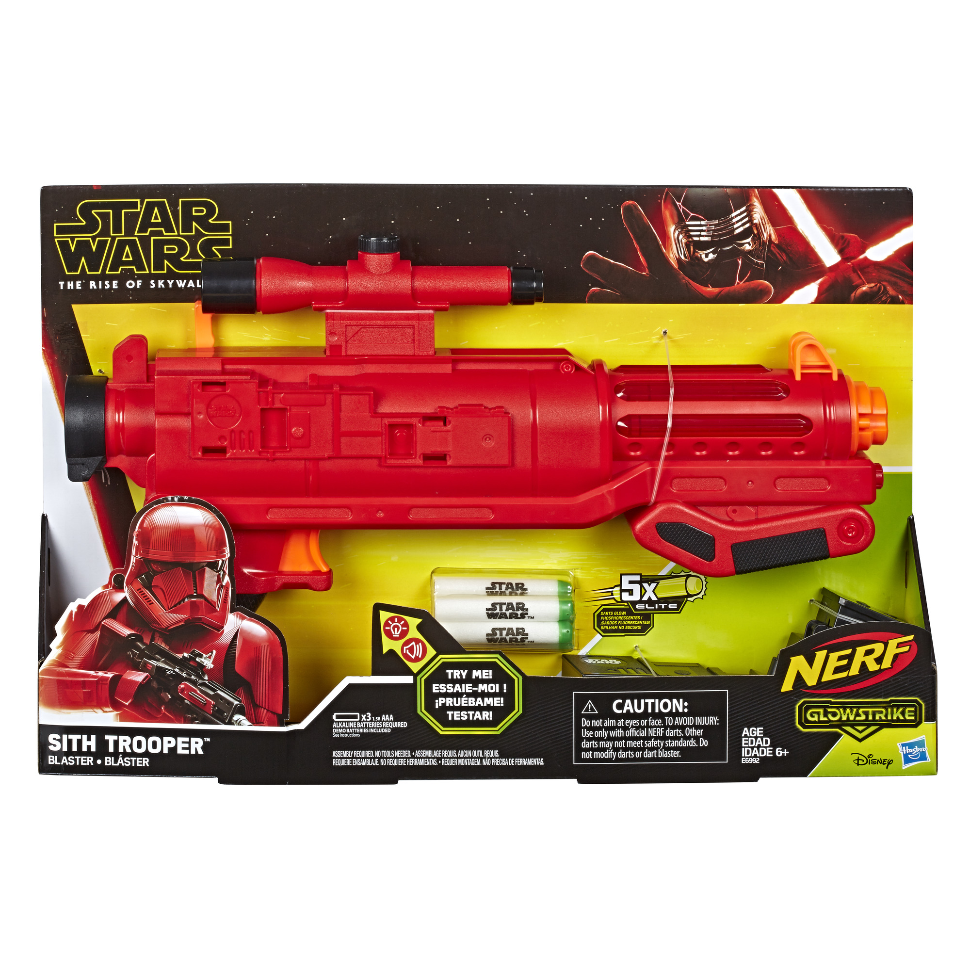 Nerf Star Wars Sith Trooper Blaster ONLY $19.98 (Reg $40)