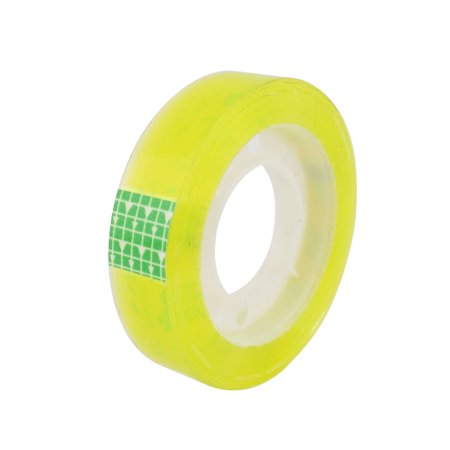 Unique Bargains Home Office School Adhesive Sticky Stationery Tape Roller Clear](Stickiest Tape)