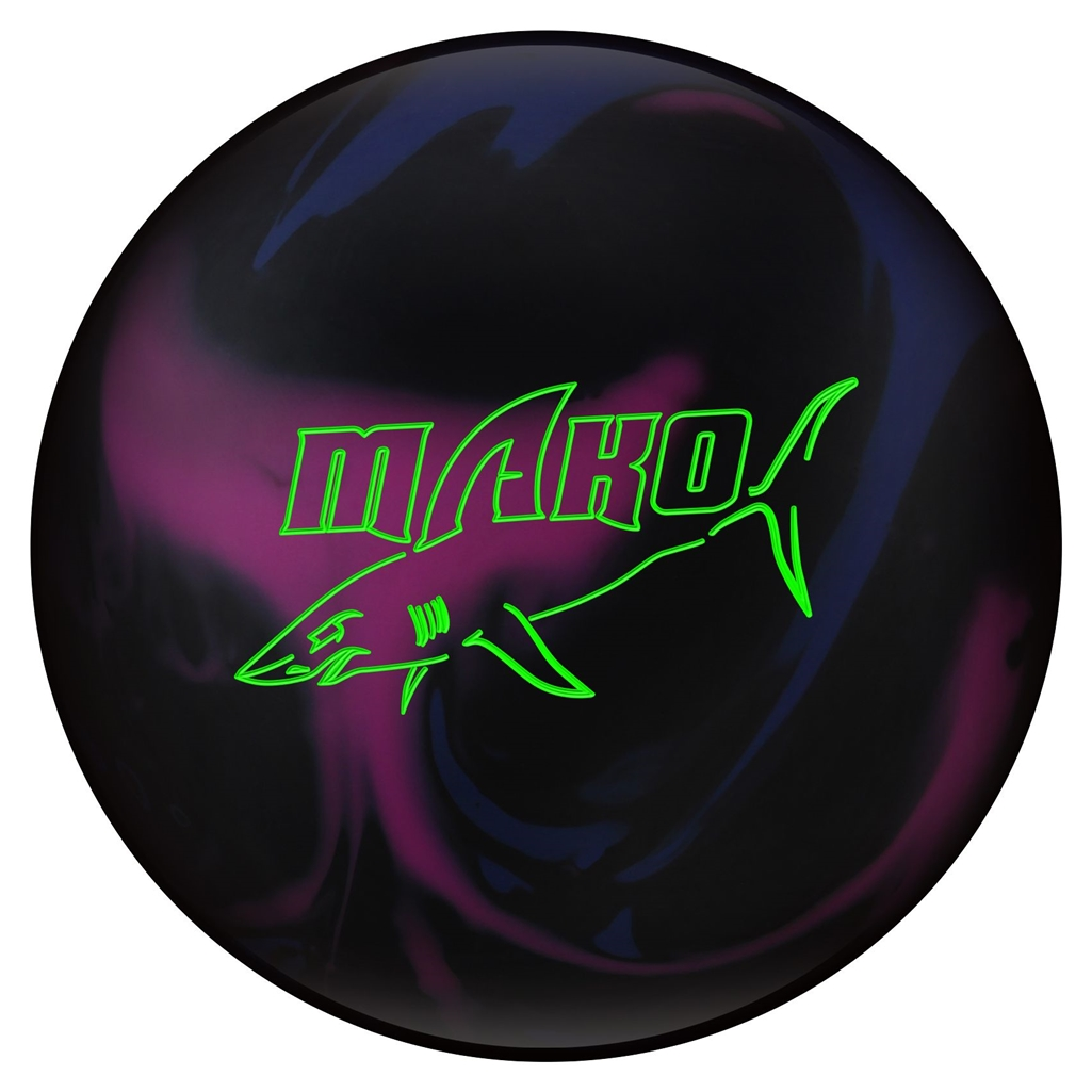 Track Mako Bowling Ball- Blue Purple Black (16lbs) by Track Bowling Products