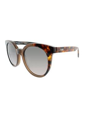 8770399256981 Product Image Fendi By the Way FF 0064S NEI 51 Unisex Round Sunglasses