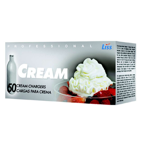 Liss Cream Charger (Set Of 50)