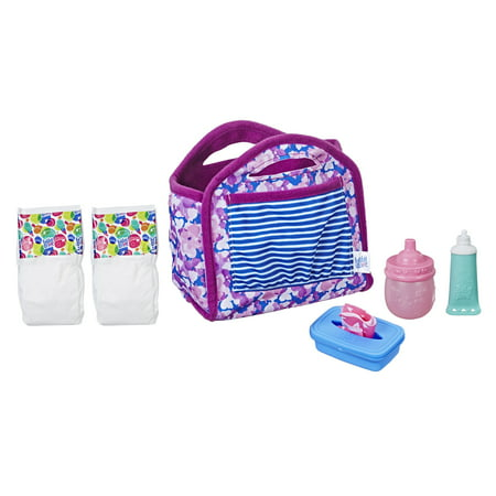 Baby Alive Diaper Bag Set, Ages 3 and up](Baby Alive Accessories At Walmart)