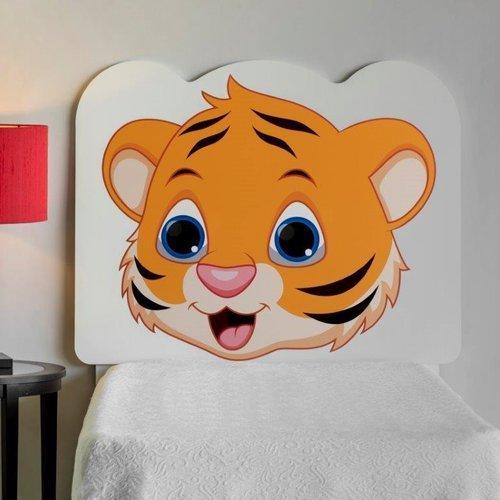 Zoomie Kids Rosetta Tiger Cub Twin Panel Headboard