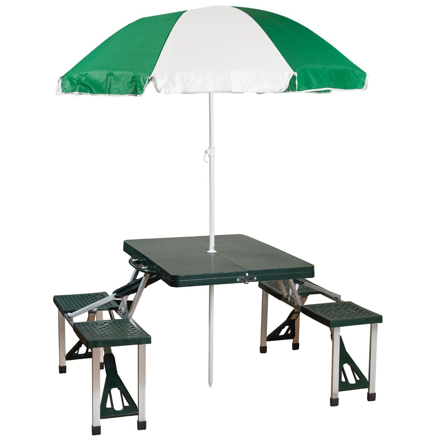 Stansport Picnic Table And Umbrella Combo Pack - Walmart.com
