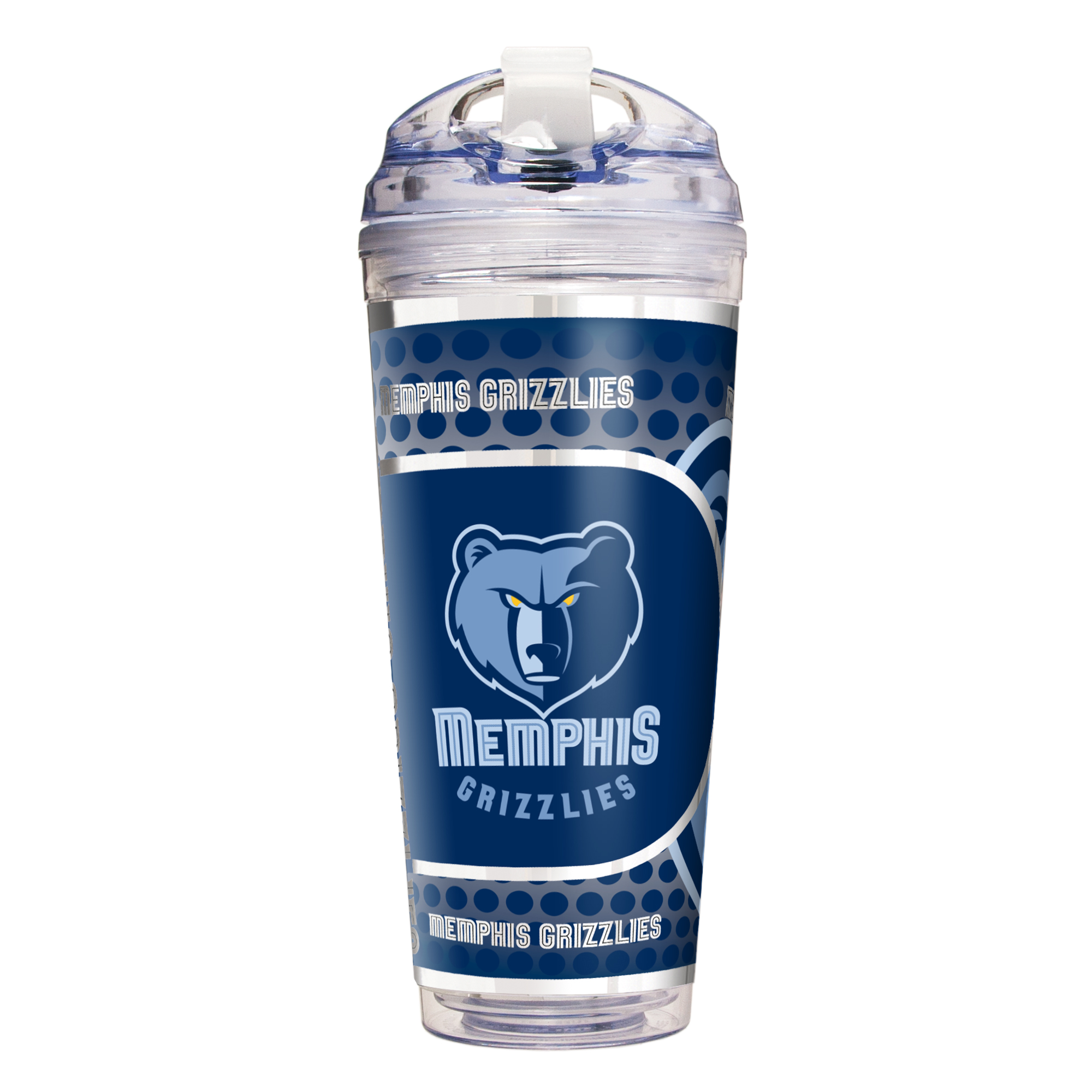 Memphis Grizzlies 24oz. Acrylic Travel Tumbler - No Size