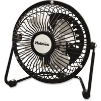 Holmes, HLSHNF0410ABM, HNF0410A-BM Mini High-Veloc. Personal Fan, 1 Each, Black