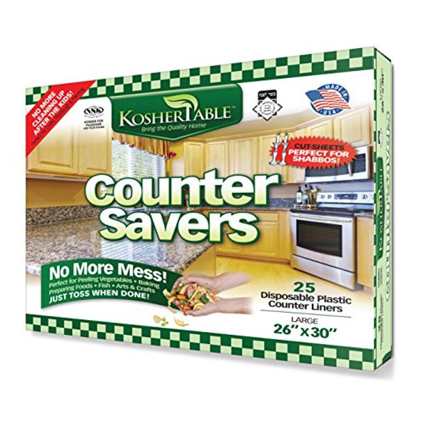 Pack Of 25 Plastic Kitchen Counter