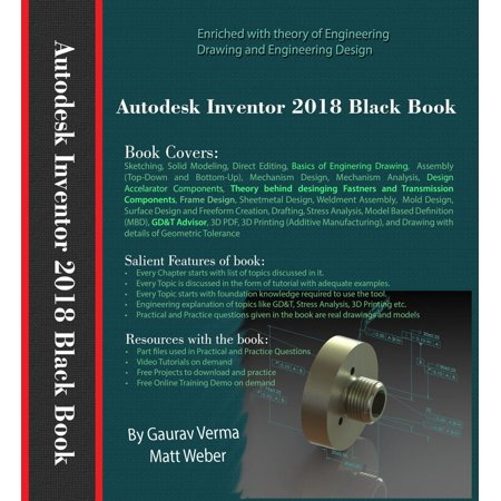 Autodesk Inventor 2018 Black Book - eBook