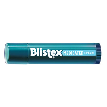 Blistex Medicated Lip Balm, Lip Protectant and Sunscreen, 0.15 oz (Blistex Medicated Lip Balm)