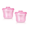 (2 Pack) Philips Avent Formula Dispenser & Snack Cup, Pink