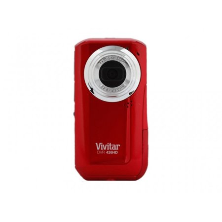 Vivitar Red DVR426HD RH Flip Digital Video Recorder
