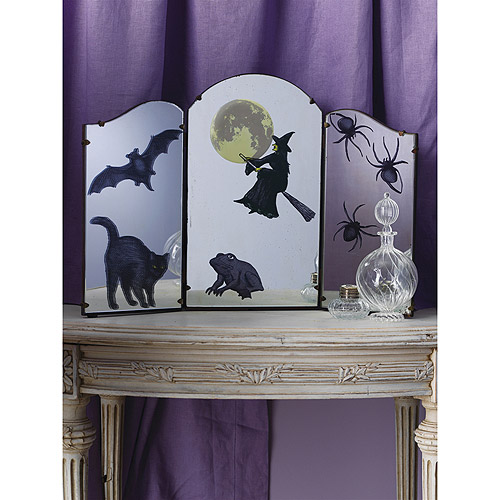 Mirror Clings 12/Pkg-Witch Icon