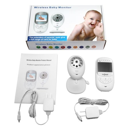 2.4'' LCD Screen Wireless Digital Baby Monitor,Baby Camera/Video Talk-Back Two-Way Audio,HD Night Vision,Temp Sensor,Baby Crying Warning Light,Stronger Signal,Clearer Image - image 2 of 12