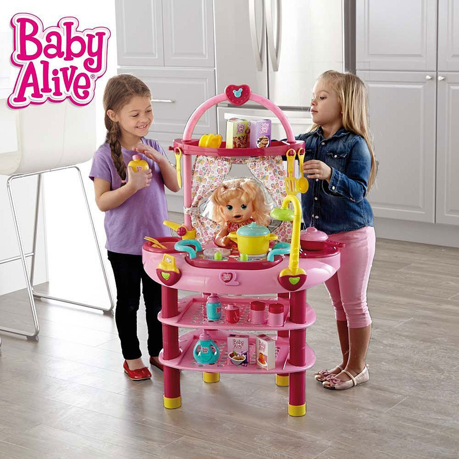 Baby Alive Doll 3 in 1 Cook 'n Care Play Set