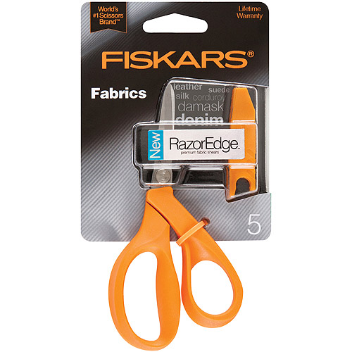 Fiskars RazorEdge Fabric Scissors, 5""