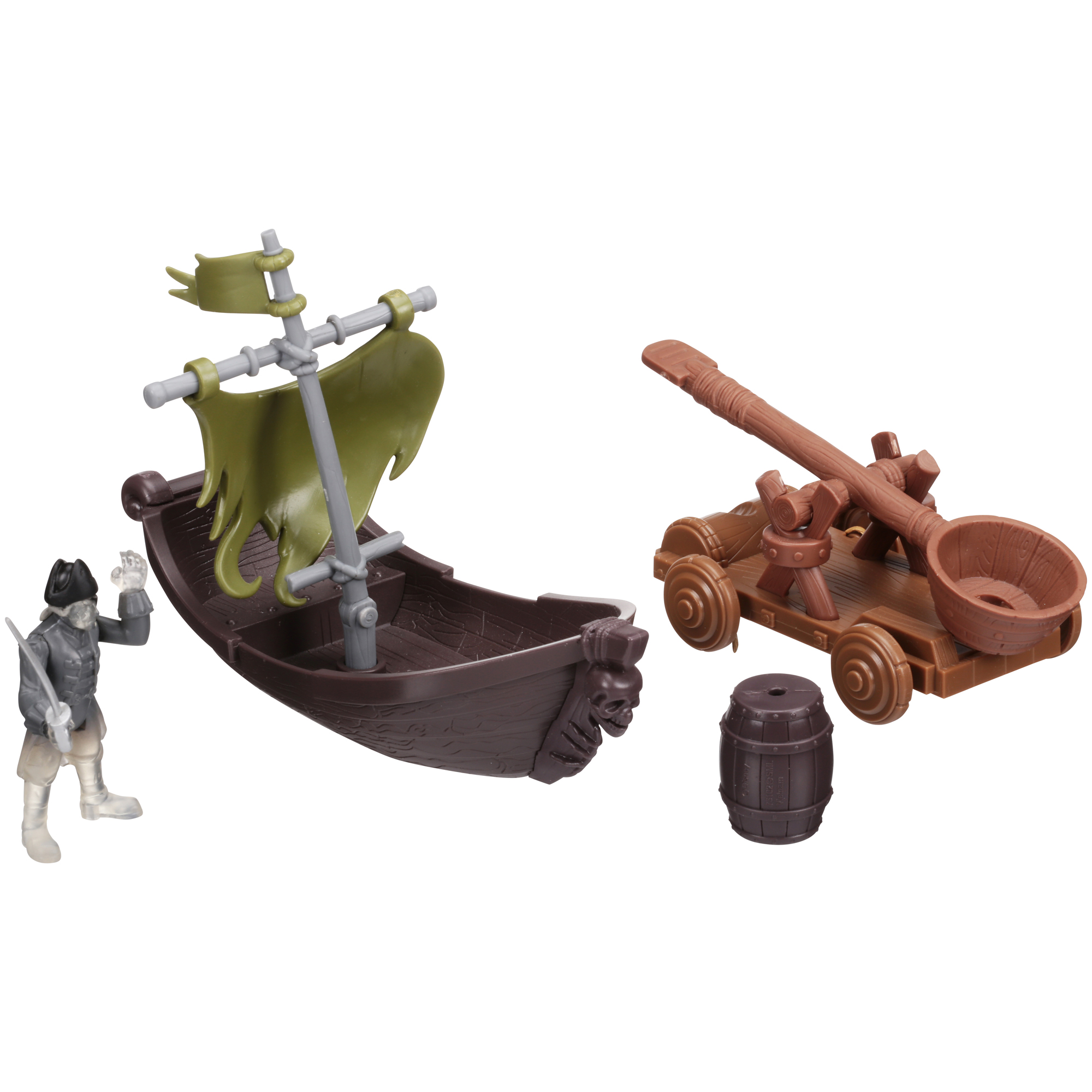 Disney Pirates of the Carribean Dead Men Tell No Tales Ghost Pirate Hunter Playset 4 pc... by Spin Master Ltd.