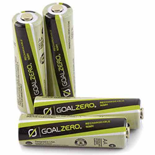 Goal Zero AA Rechargeable Batteries, 4-Pack