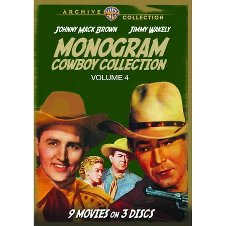 Monogram Cowboy Collection Volume 4 (DVD)