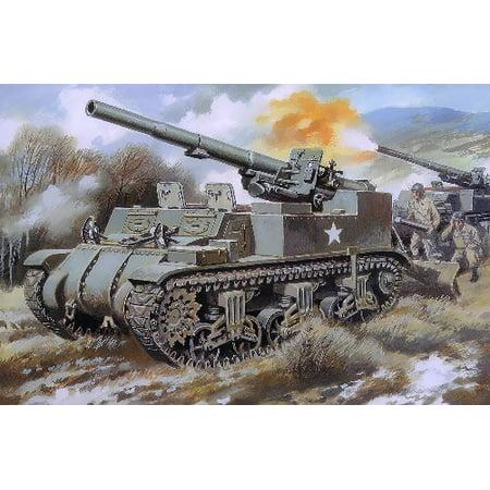 1/72 M12 155mm US King Kong Gun Motor Carriage