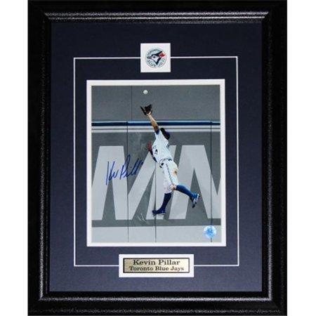 Midway Memorabilia pillar_8x10_signed Kevin Pillar Toronto Blue Jays Signed 8x10 Frame by