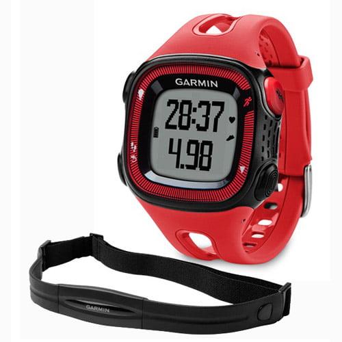 Garmin Forerunner 15 GPS Running Watch W/HRM RED & Black
