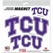 TCU Horned Frogs WinCraft 8'' x 8'' Outdoor Magnet