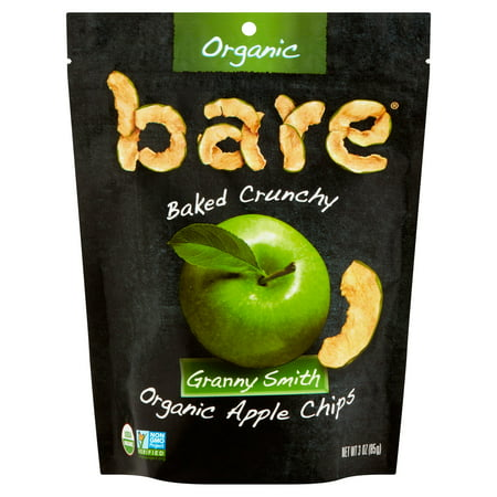 Bare Granny Smith Organic Apple Chips, 3 oz, 12 pack
