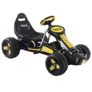Go Kart Kids Ride On Car 4 Wheel Racer Pedal Powered Drive Outdoor