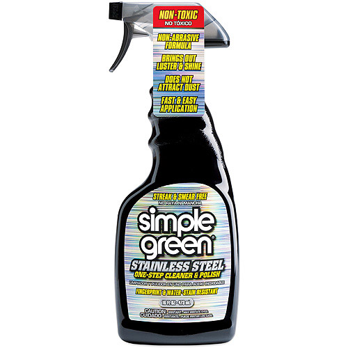 Simple Green Stainless Steel Cleaner and Polisher, 16 fl oz