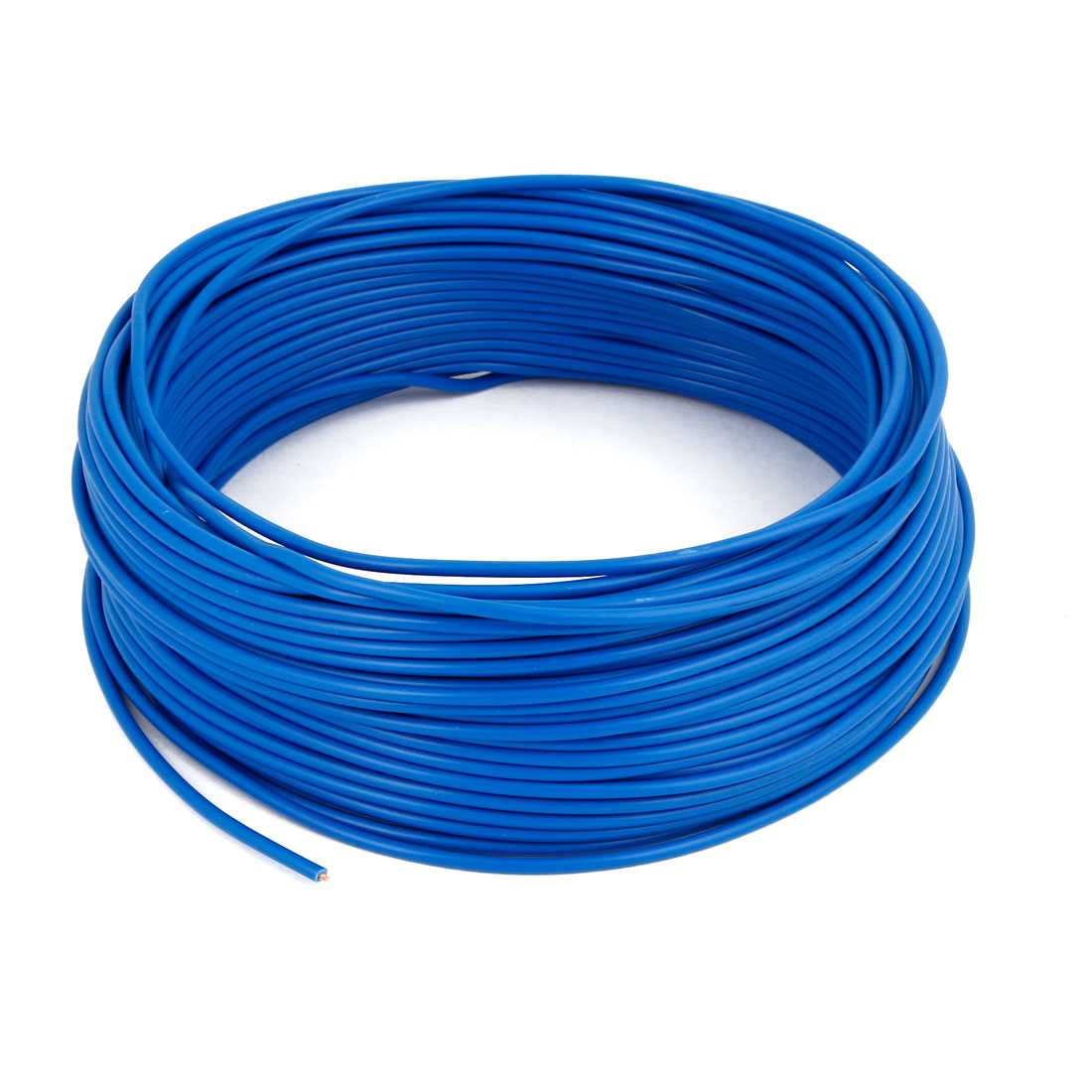 Unique Bargains Vehicles Blue Power Amplifier Wire Primary Cable 30M 98Ft Length Accessory