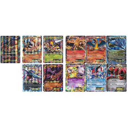 - 5 Oversized Jumbo EX OR GX Promo Pokemon Cards! No Duplicates! Includes 1 Jumbo Toploader