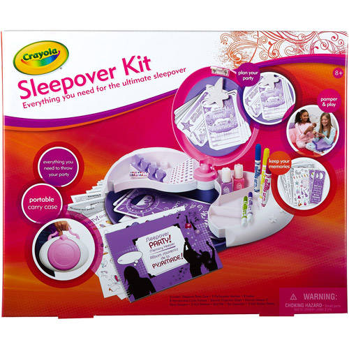 Crayola SleepOver Party Case