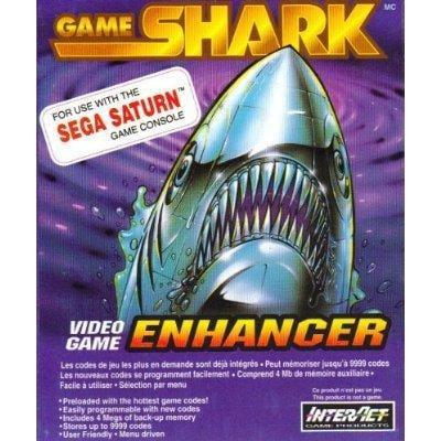Game Shark Video Game Enhancer (Sega Saturn) by