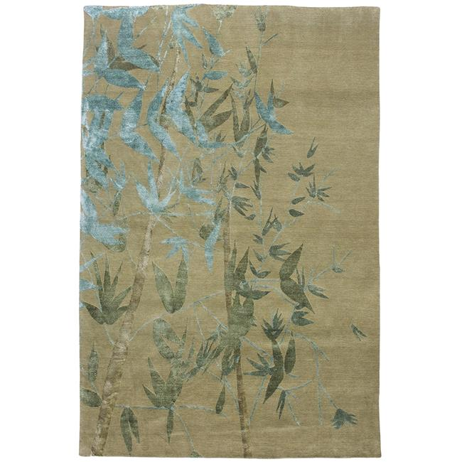 Due Process Stable Trading Adaptations Branches Seafoam Area Rug, 9 x 12 ft.