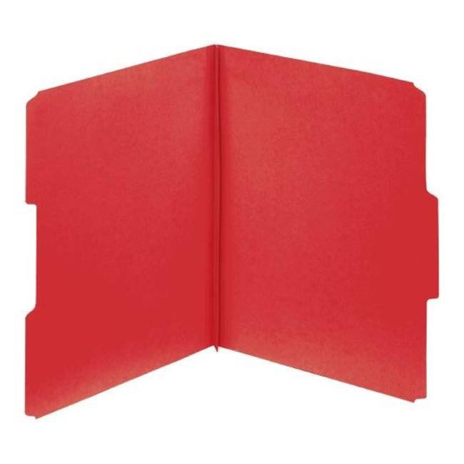 Globe-Weis 615 1-3 DRED Pressboard Folder, 1 inch Exp, 0. 33 Tab, Letter, Dark Red, 25 Per Box, Pack Of 5