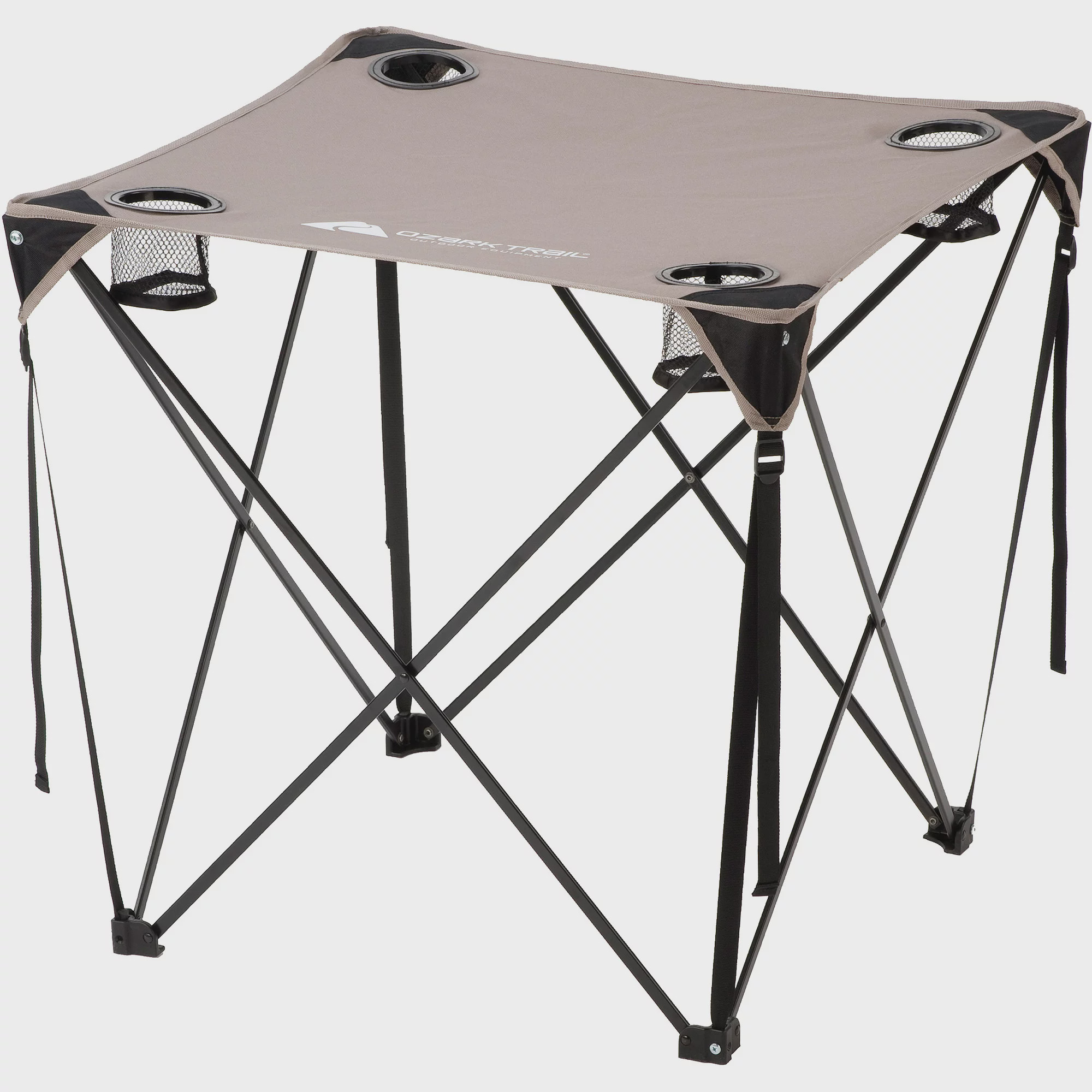 Ozark Trail Quad Table, Grey   Walmart.com