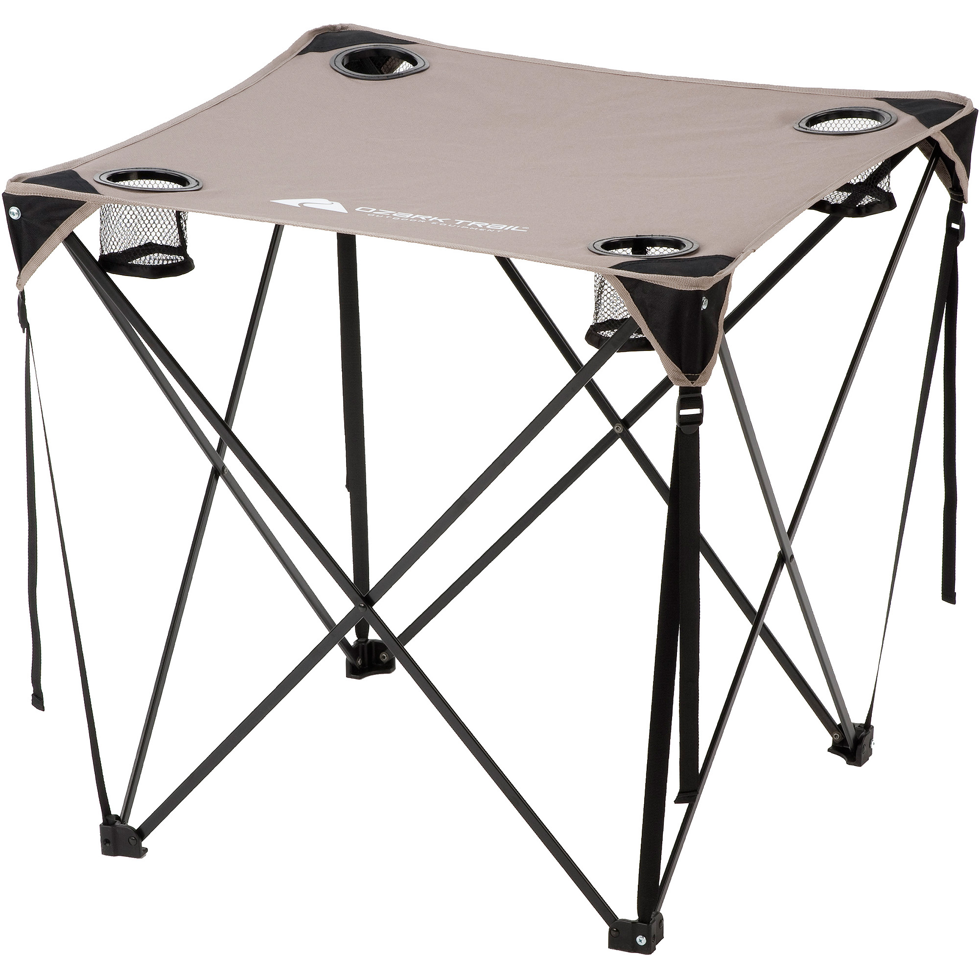 Ozark Trail Quad Table, Grey