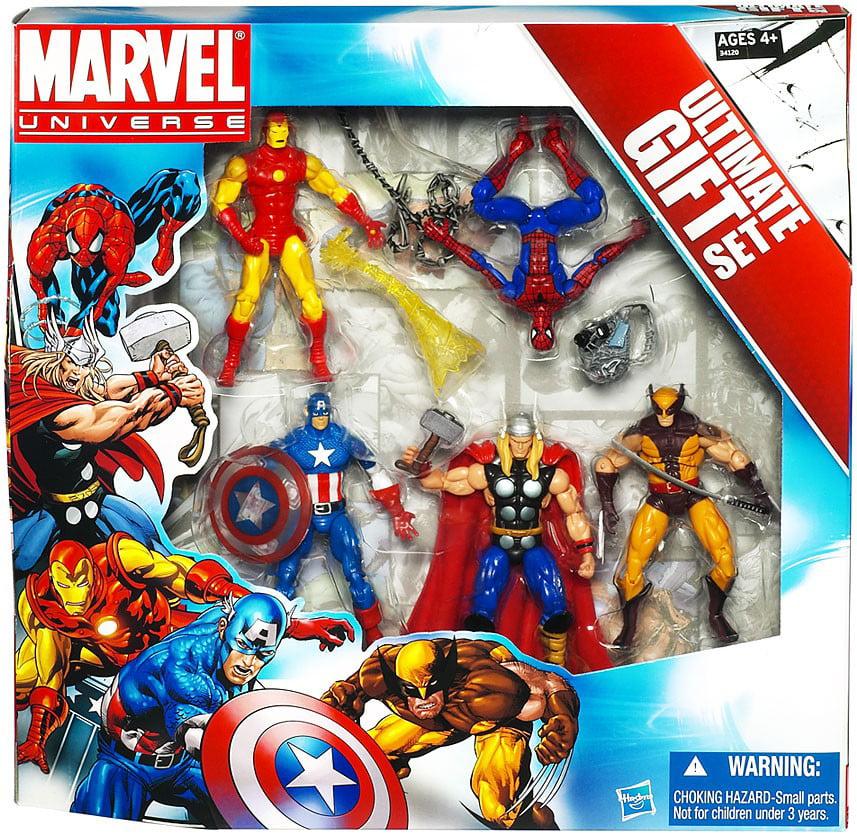 "Marvel Universe Avengers Ultimate Gift Set 3.75"" Action Figure 5-Pack"