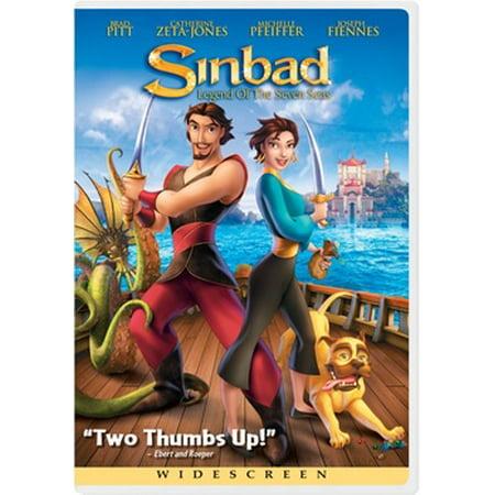 Sinbad: Legend Of The Seven Seas (DVD) (Sinbad Legend Of The Seven Seas Vhs)