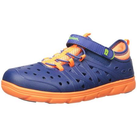 3d25c0fa5b84 Kids Stride Rite Girls Phibian Rubber Low Top Water Shoes - Walmart.com