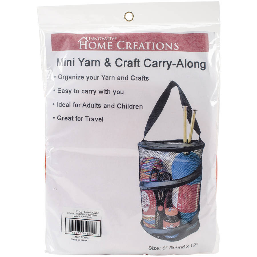 "Mini Yarn & Craft Carry-Along, 8"" x 12"""