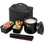 Tiger Classic Lunch Box, 25.3 oz, Black