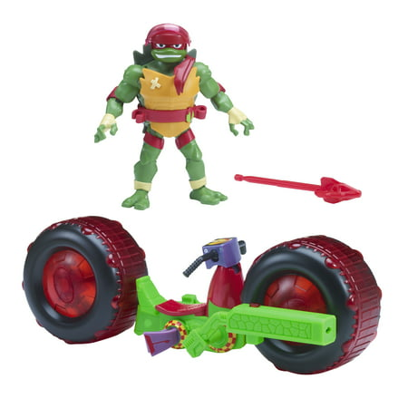 Rise of the Teenage Mutant Ninja Turtle Shell Hog with Raphael